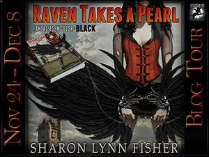 RavenTakes a Pearl Button 300 x 225